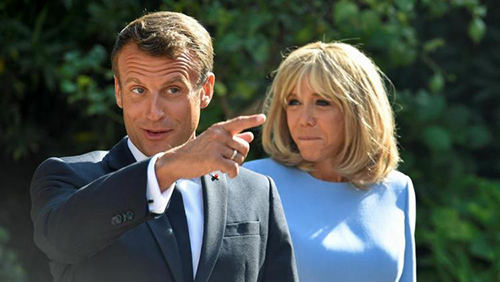 کل کل رئیس جمهور فرانسه و برزیل بر سر زیبایی همسرانشان (عکس)