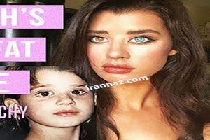 رنگ چشمهای جعلی خانم مدل معروف اینستاگرام رو شد (عکس)