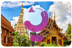 محبوبترین تور آسیایی در پائیز | چین، امارات، تایلند، مالزی یا …؟