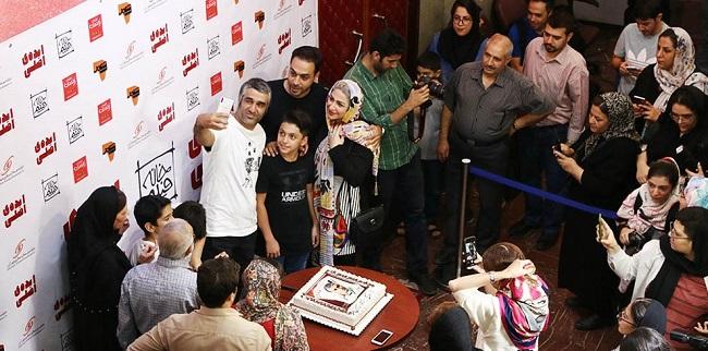 جشن تولد بازیگر و فوتبالیست ایرانی (عکس)