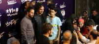 حضور الهه حصاری و رضا یزدانی در اکران فیلم «کروکودیل»