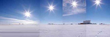 بکرترین جای زمین که خورشید غروب نمیکند (عکس)