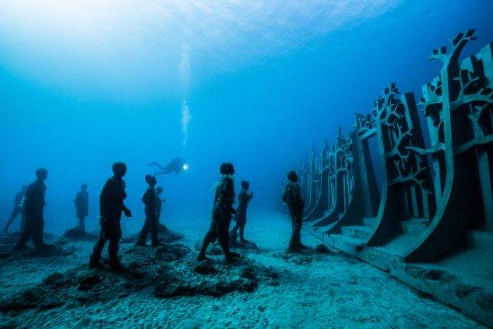 موزه ای رویایی در زیر آب + تصاویر