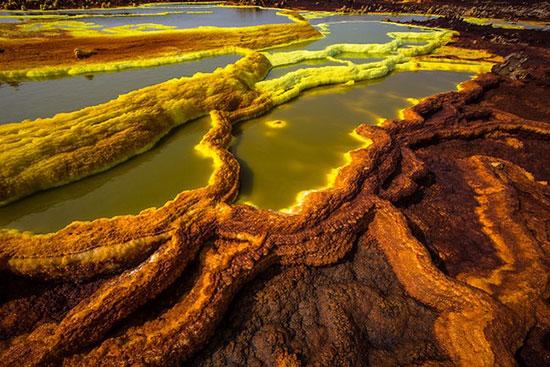 مناظری طبیعی که انگار متعلق به سیارهای دیگرند!