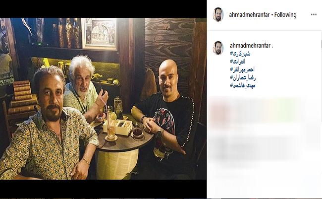 عکس های جدید بازیگران در شبکه های اجتماعی