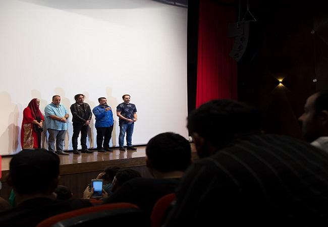 بازیگران در اکران مردمی «کروکودیل»