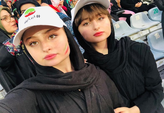 بازیگران زن حاضر در ورزشگاه آزادی چه کسانی بودند؟