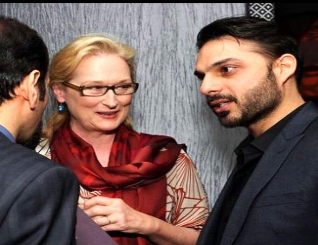 پیمان معادی و اصغر فرهادی در کنار ستاره زن هالیوود +عکس