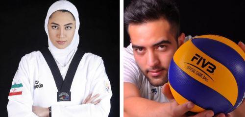 عکس هایی از دو دختر لیست برتر زیبایی ایران