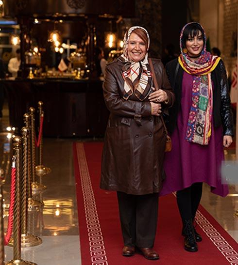 عکس هایی از بازیگران خاله سوسکه و اکران این فیلم