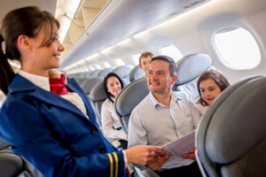 وظایف مهماندار هواپیما چیست؟