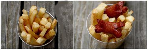 طرز تهیه سیب زمینی سرخ کرده با سس مخصوص