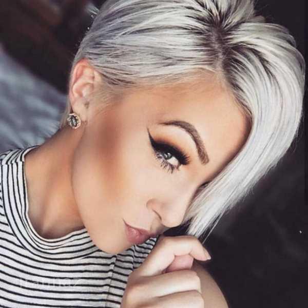 عکس مدل مو کوتاه زنانه 99 با طرح های لاکچری و جذاب