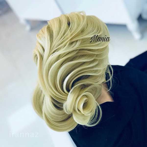 تصاویری خاص و دیدنی از مدل شینیون مو جدید خطی 2020