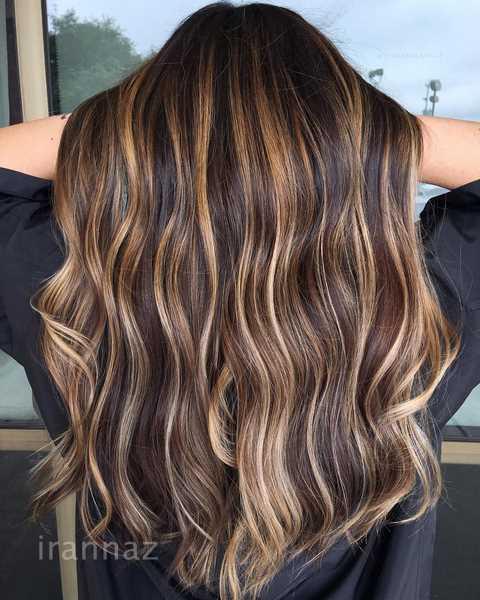 50 عکس مدل رنگ مو جدید ویژه نوروز 99 + مش و هایلات