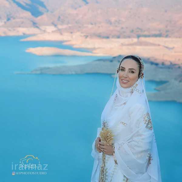 لباس نامزدی بختیاری سوگل طهماسبی + عکس