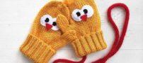 20 طرح جدید از مدل های دستکش بافتنی بچه گانه