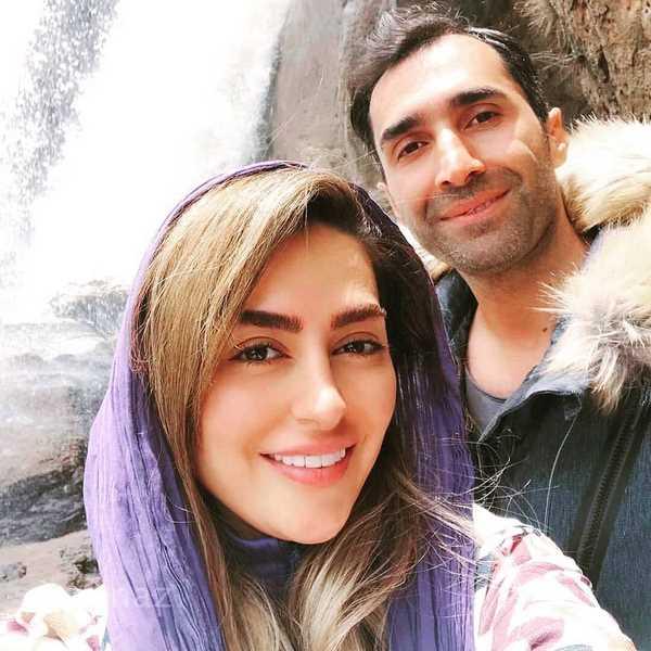 سلفی جدید سمانه پاکدل و هادی کاظمی