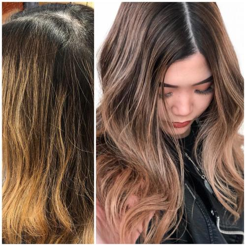 تصاویر از مدل رنگ مو هایلایت عروس جدید و زیبا 2020