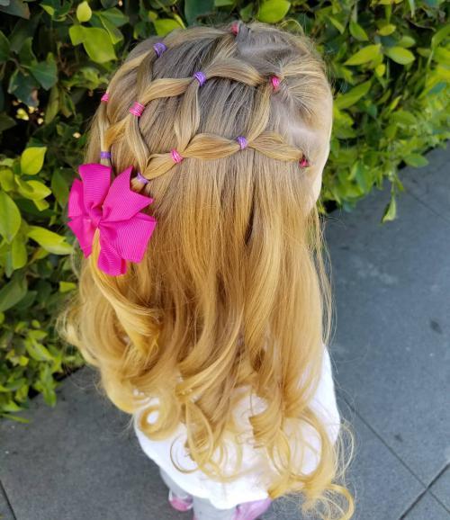 مدل بافت موی دخترانه 99 با ایدهای متنوع (50 عکس)