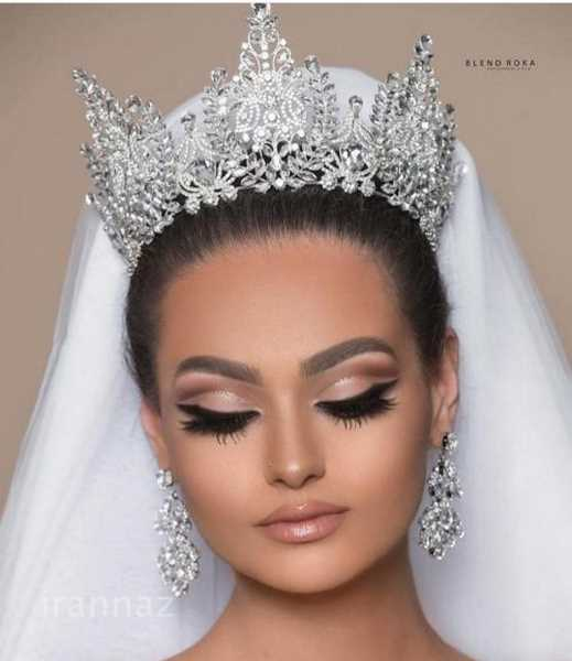 50 عکس از مدل تاج عروس جدید ویژه سال 2020 - 99
