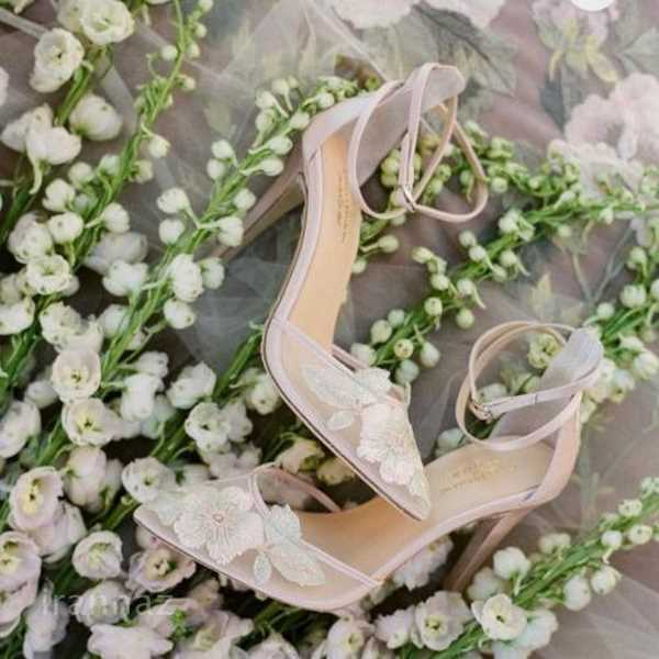 50 طرح شیک و لاکچری از مدل کفش عروس جدید مخصوص سال 2020