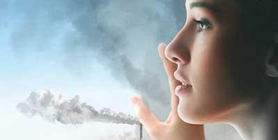 آلودگی هوا بر پوست و مو چه تاثیری می گذارد؟