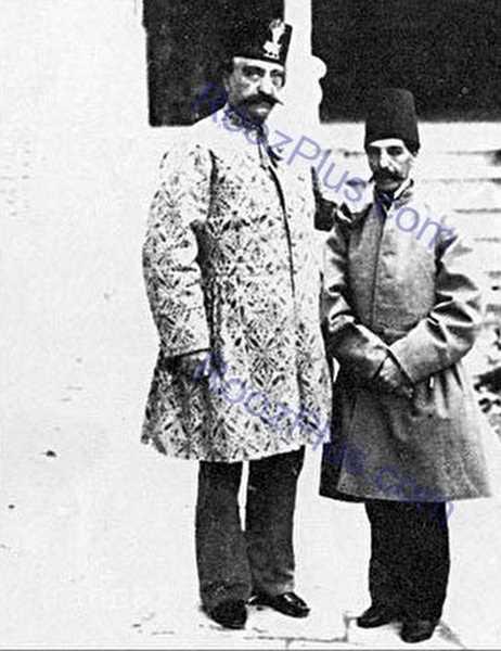 عکس عبدالصمد میرزا برادر ناصرالدین شاه