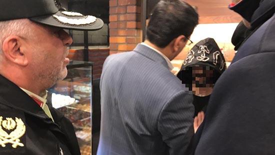 گروگان گیری دختر زیبا در تهران بخاطر شکست عشقی( عکس )