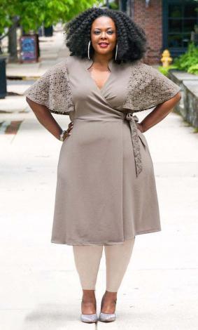 زیباترین مدلهای لباس مجلسی سایز بزرگ گیپور