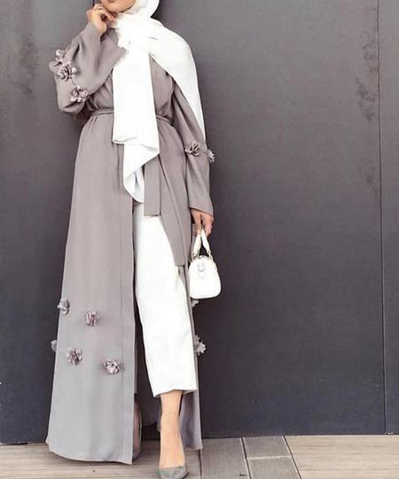 مدل مانتو بلند مد امسال (عکس)