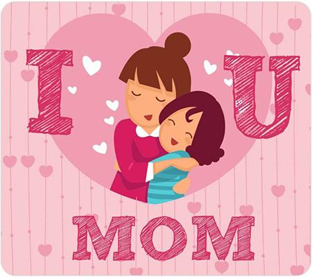 عکس پروفایل روز مادر و عکس نوشته تبریک روز مادر