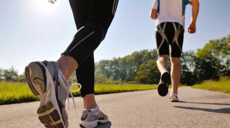 بهترین زمان پیاده روی برای لاغری