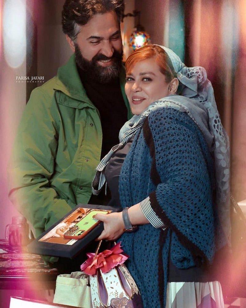 عکس بهاره رهنما و همسرش در ولنتاین