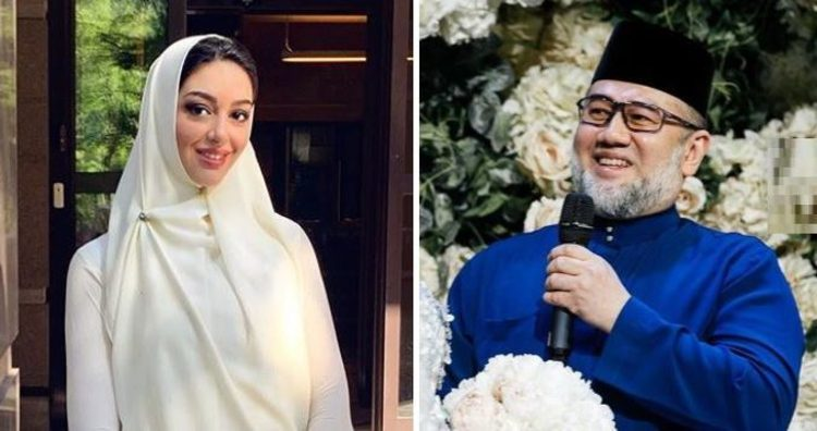 علت طلاق ملکه زیبایی و شاه مالزی لو رفت (عکس)