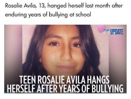 دختر 13 ساله بخاطر حس زشت بودن خودکشی کرد (عکس)
