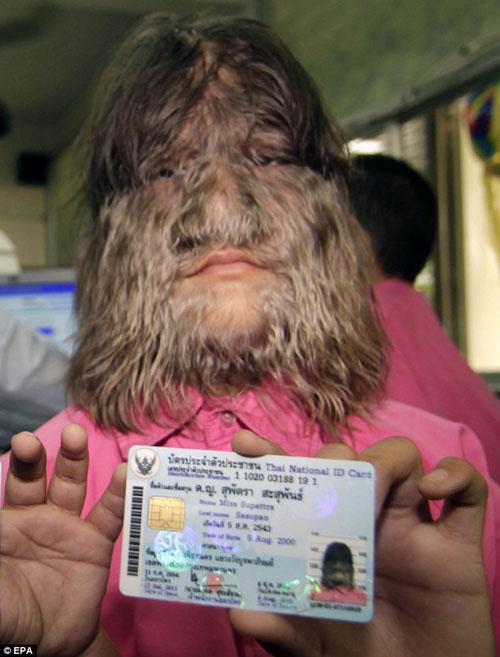 تغییر ظاهر ترسناک ترین دختر جهان بعد از ازدواج (عکس)