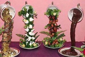آموزش ساخت و تزئین هفت سین معلق فنجانی (عکس)