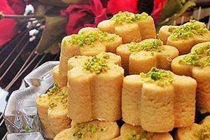 آموزش طرز تهیه شیرینی نخودچی بدون فر (عکس)