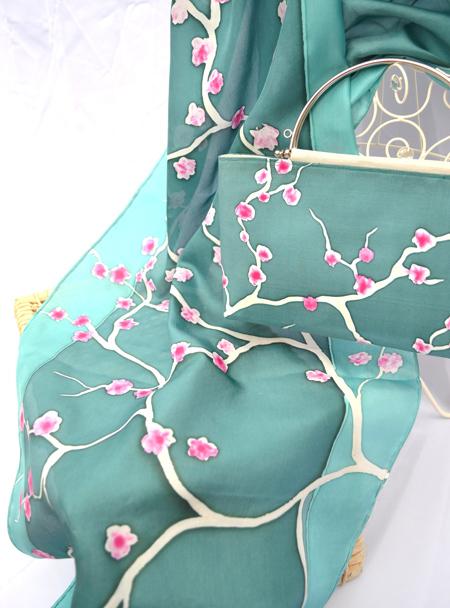 زیباترین مدلهای ست روسری و کیف