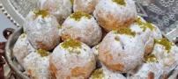 طرز پخت شیرینی قطاب خانگی برای عید