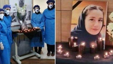 تایید مرگ پرستار گیلانی بر اثر کرونا (عکس)