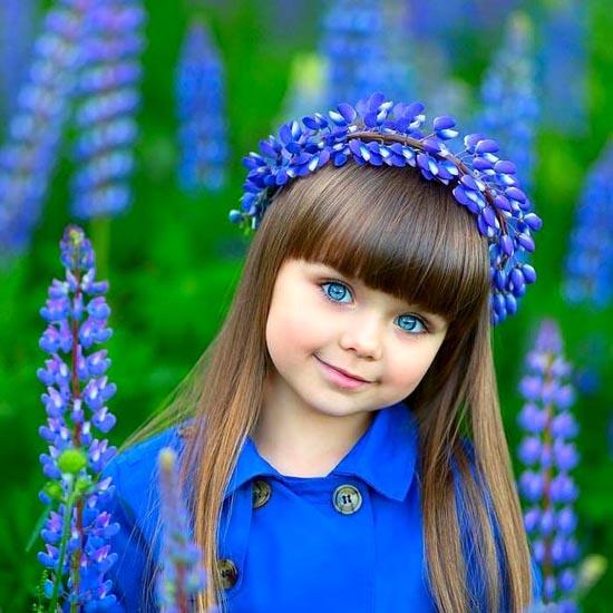 زیباترین دختر دنیا را ببینید (عکس)