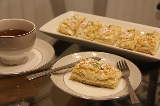 طرز تهیه شیرینی ناپلئونی خانگی