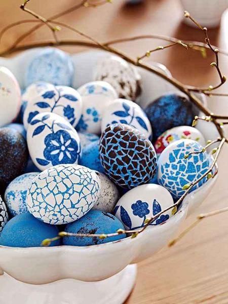 مدلهای تزئین تخم مرغ رنگی سفره هفت سین