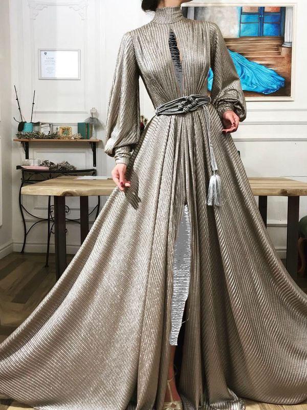شیک ترین مدل لباس های مجلسی لمه شنی و براق