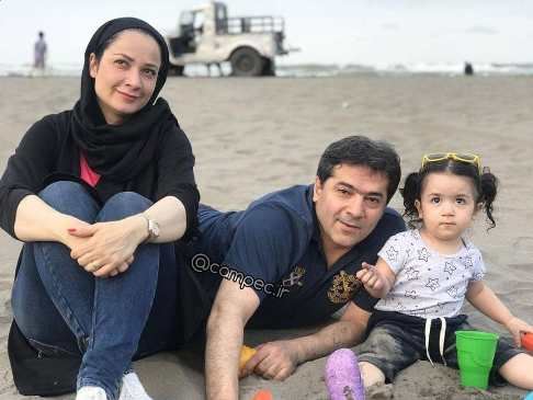 همسر واقعی نسرین نصرتی بازیگر نقش فهیمه در سریال پایتخت (عکس و بیوگرافی)