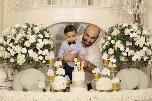 عکس جدید محسن تنابنده و پسرش نامی