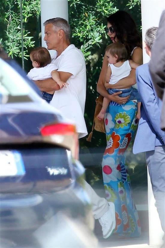 جزئیات اختلاف و طلاق جورج کلونی و همسرش امل (عکس)