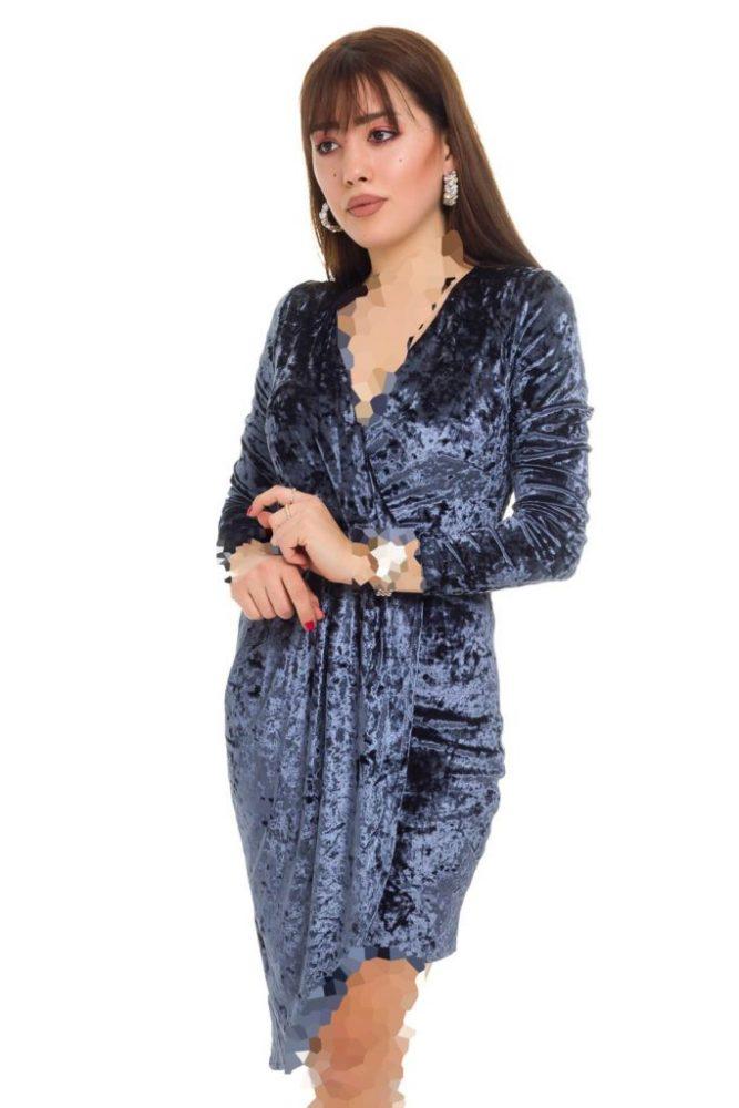 جدیدترین مدل لباس مجلسی مخمل